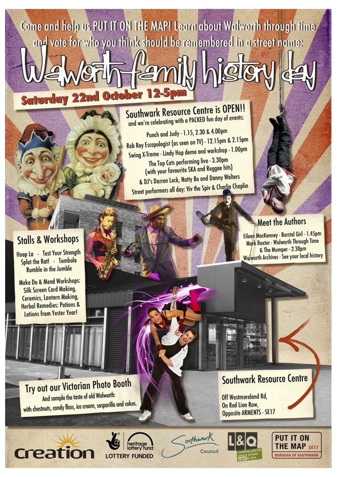 Walworth Family History Day