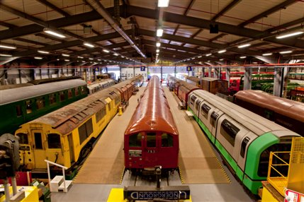 Family Open Weekend: London Transport Museum Depot Acton