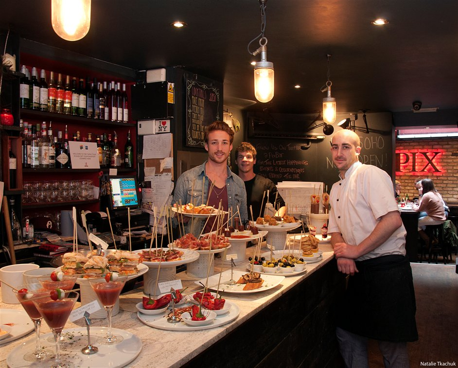 London Restaurant Festival - Tapas Tour