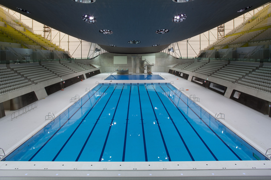 Aquatics Centre Images