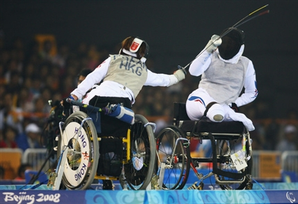 London Paralympics: Wheelchair Fencing