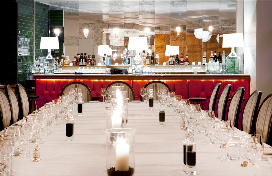 Hush Brasserie - Mayfair Private Dining Room