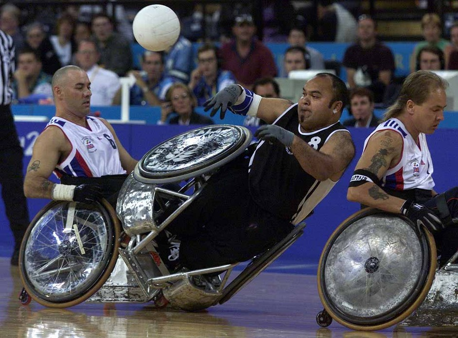London Paralympics: Wheelchair Rugby
