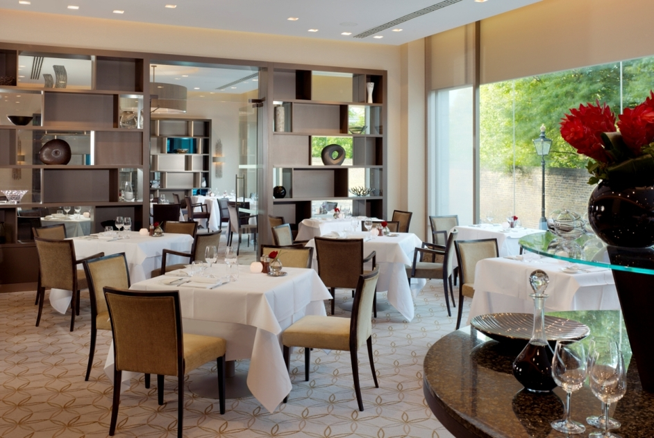 Park terrace restaurant royal garden hotel discount for Terrace on the park restaurant
