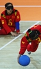 London Paralympics: Goalball