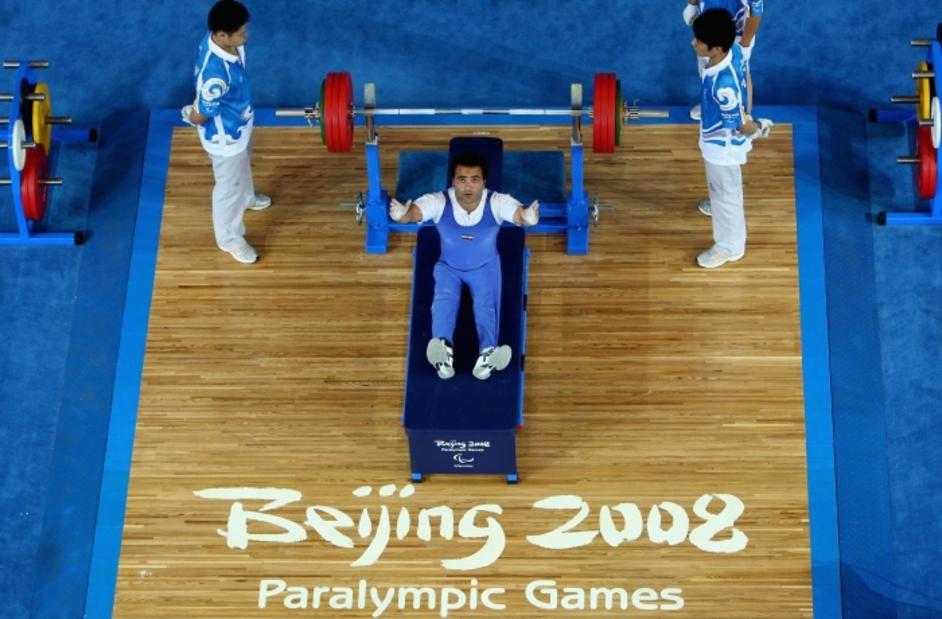 London Paralympics: Powerlifting