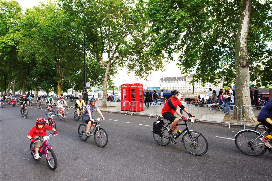 RideLondon FreeCycle - www.ridelondon.co.uk