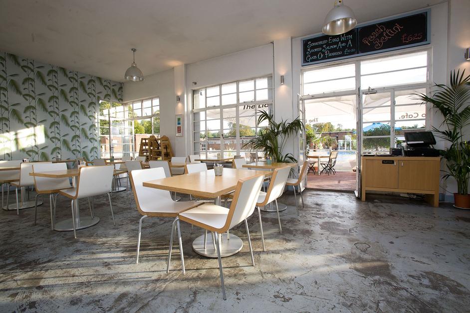 Brockwell Lido Cafe