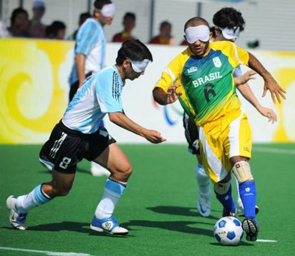 London Paralympics: Football 5-a-side