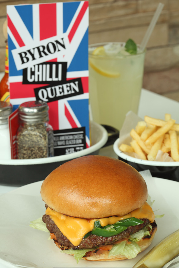 Byron - Chilli Queen Burger