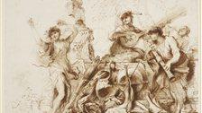 Castiglione: Lost Genius - Giovanni Benedetto Castiglione, Omnia Vanitas by Her Majesty Queen Elizabeth II 2013