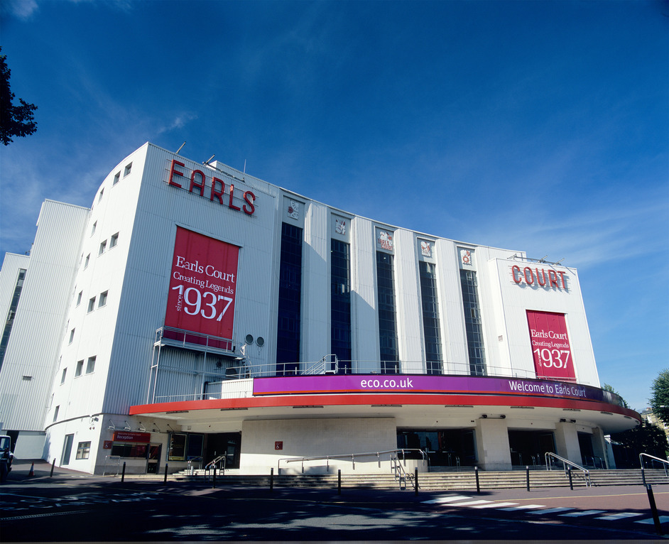 London Olympics: Earls Court Exhibition Centre