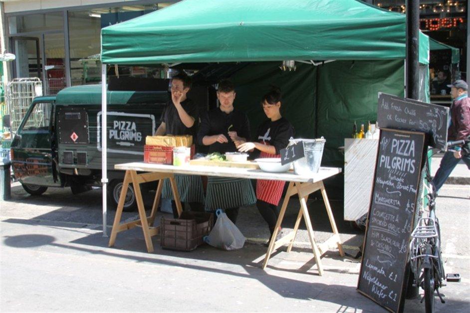 Pizza Pilgrims, Berwick Street