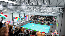 London Olympics Test Event: Water Polo