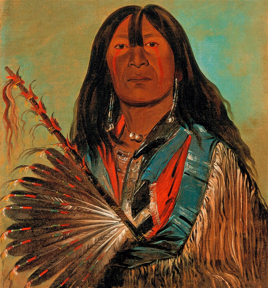 George Catlin: American Indian Portraits - ShnkaTheDogChi
