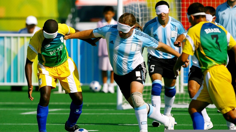 London Paralympics: Football 5-a-side - London 2012