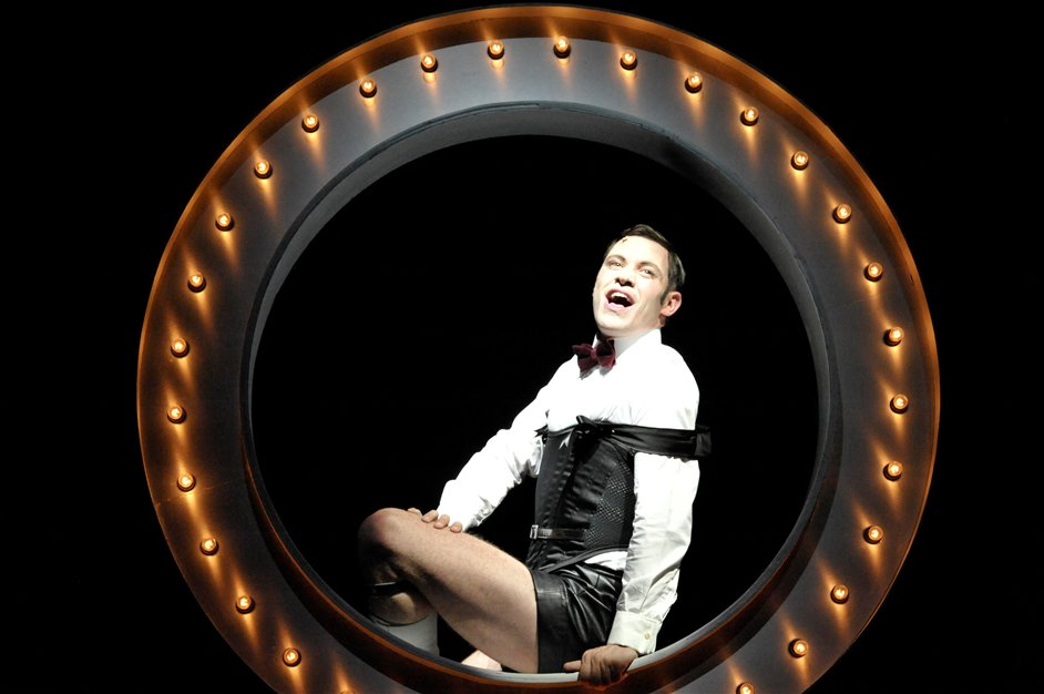 Cabaret - Will Young as Emcee in Cabaret Photographer Keith Pattison