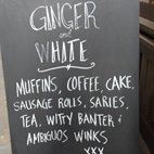 Ginger & White