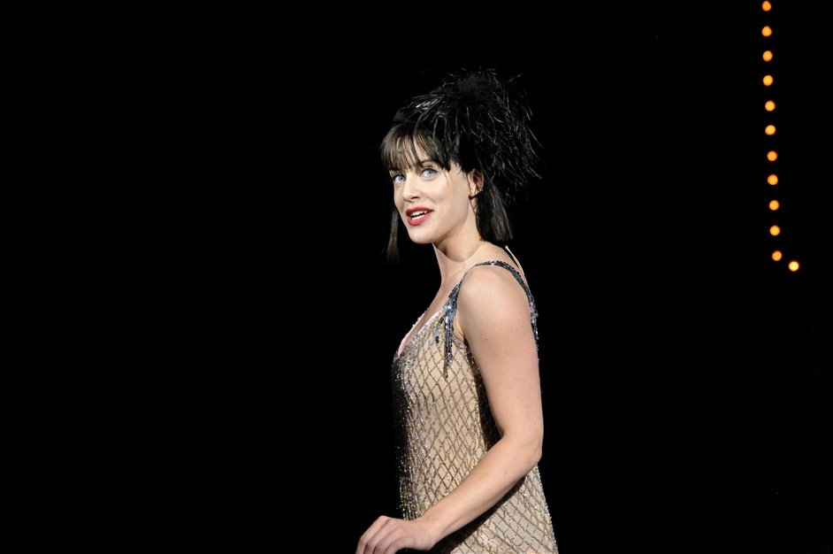 Cabaret - Michelle Ryan as Sally Bowles in Cabaret 4 Photographer Keith Pattison