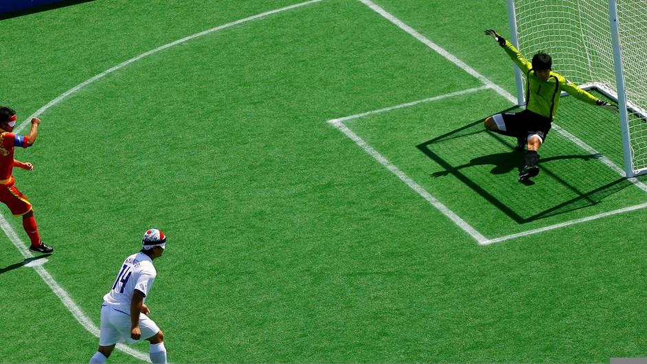 London Paralympics: Football 5-a-side - London 2012