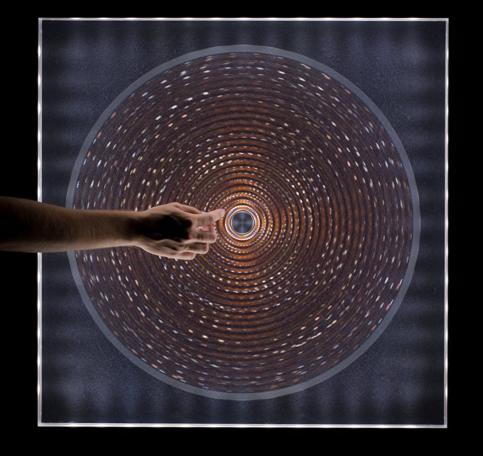 Digital Crystal: Swarovski at the Design Museum  - Blur by Philippe Malouin for Swarovski, image courtesy of David Levene