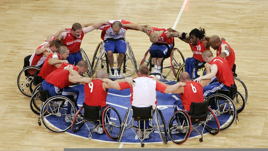 London Paralympics: Wheelchair Basketball - London 2012