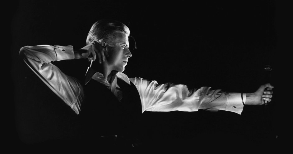 David Bowie Is - The Archer Station to Station tour, 1976, Photograph by John Rowlands © John Robert Rowlands