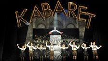 Will Young as Emcee in Cabaret 2  by Keith Pattison