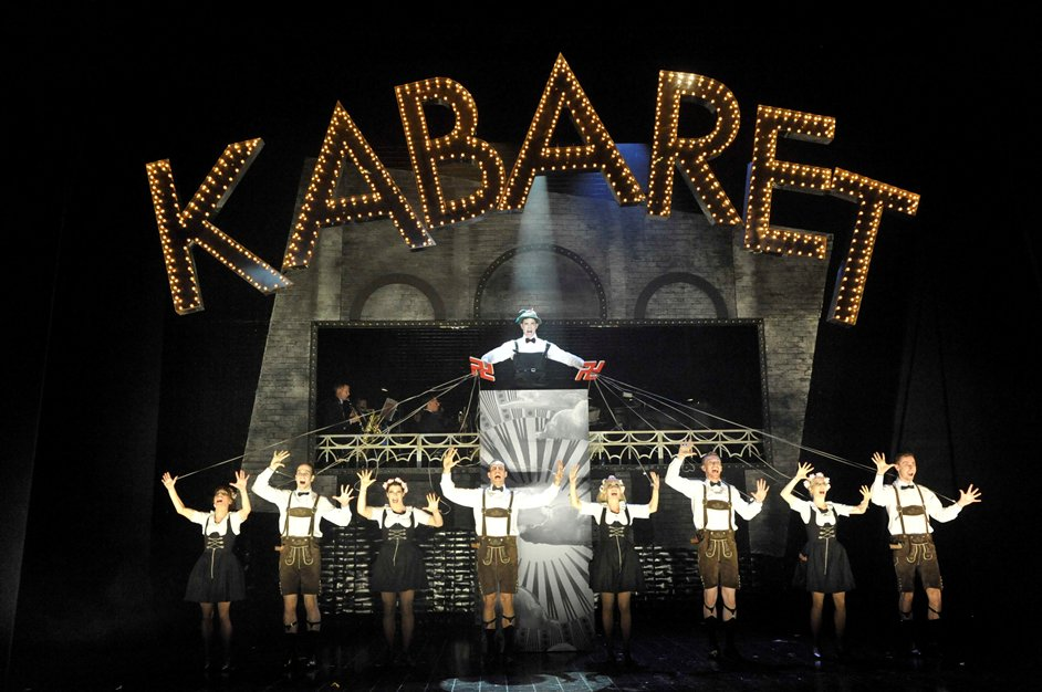 Cabaret - Will Young as Emcee in Cabaret 2 Photographer Keith Pattison copy