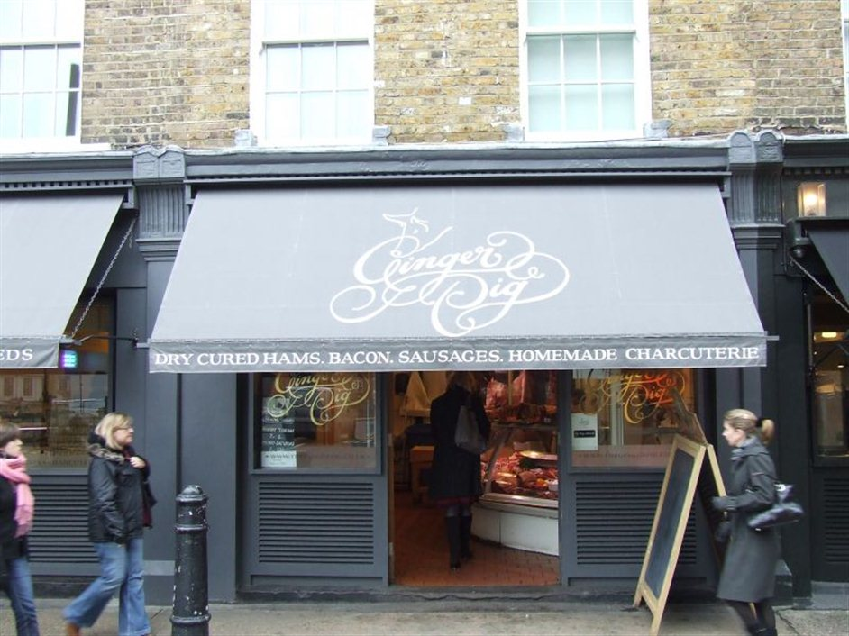 ginger pig images marylebone london