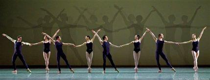 Boston Ballet: Programme 1 - Boston Ballet in Polyphonia, photo by Gene Schiavone