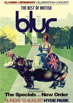 BT London Live Closing Ceremony Celebration Concert: Blur, The Specials, New Order