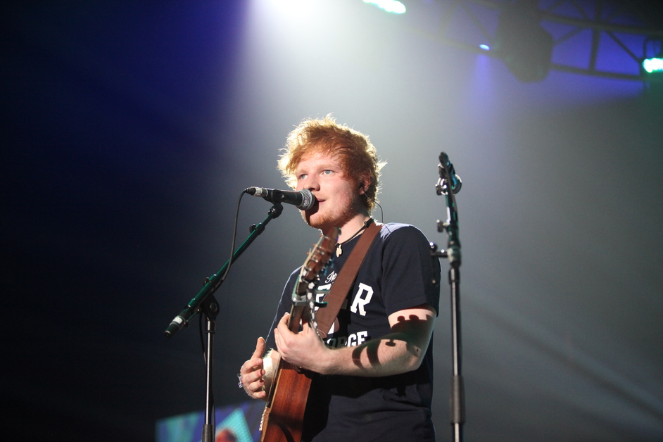 Unity: a concert for Stephen Lawrence - Ed Sheeran