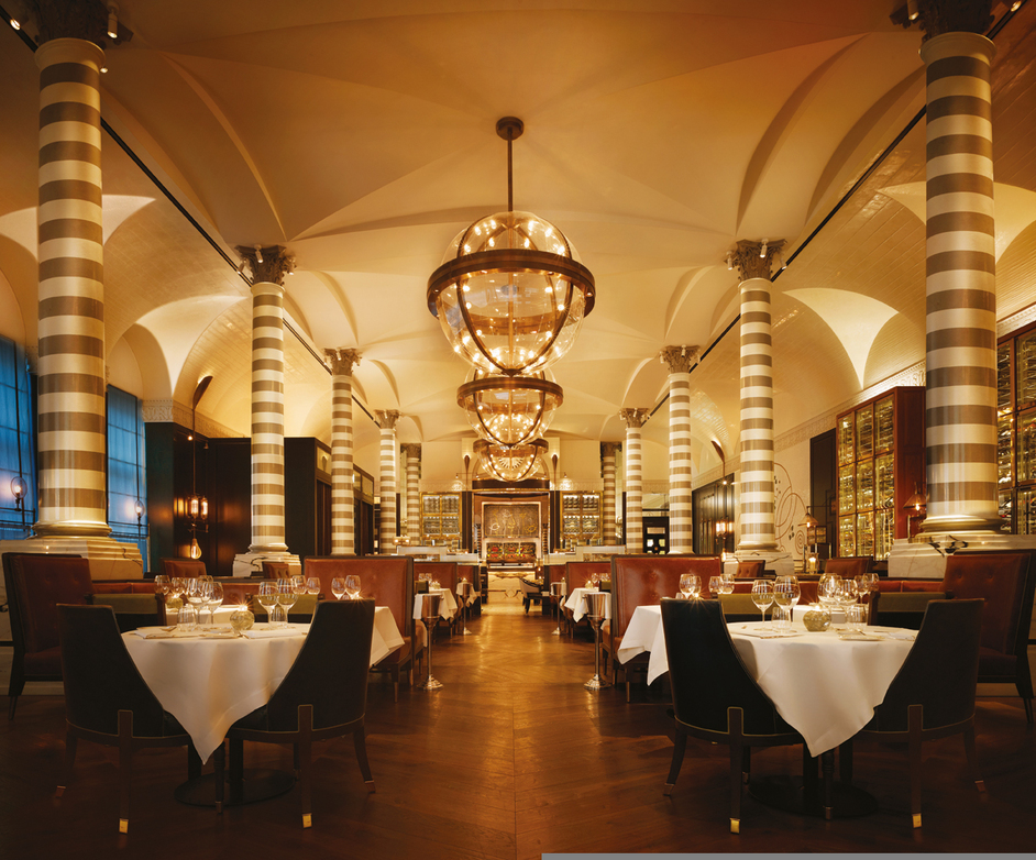 Massimo restaurant bar northumberland avenue online for 5 star restaurant exterior
