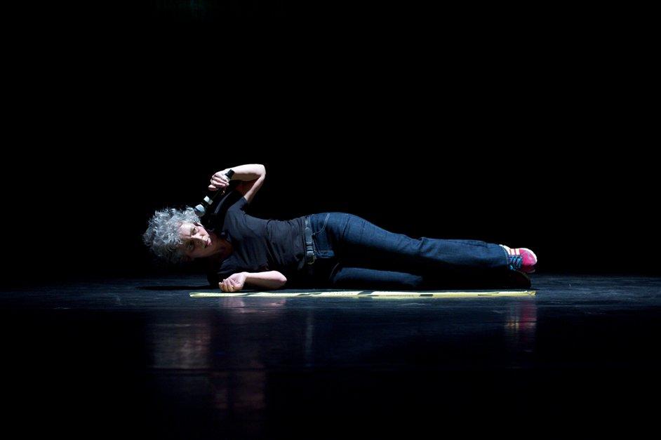 Dance Umbrella - Wendy Houstoun, 50 Acts, Photo by Chris Nash