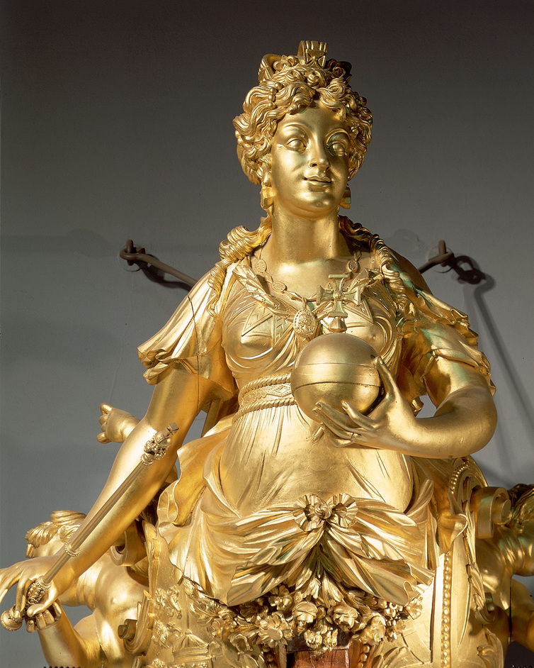 Royal River: Power, Pageantry and the Thames - Figurehead of the royal yacht, Royal Charlotte [Queen Charlotte], 1824 © National Maritime Museum, London