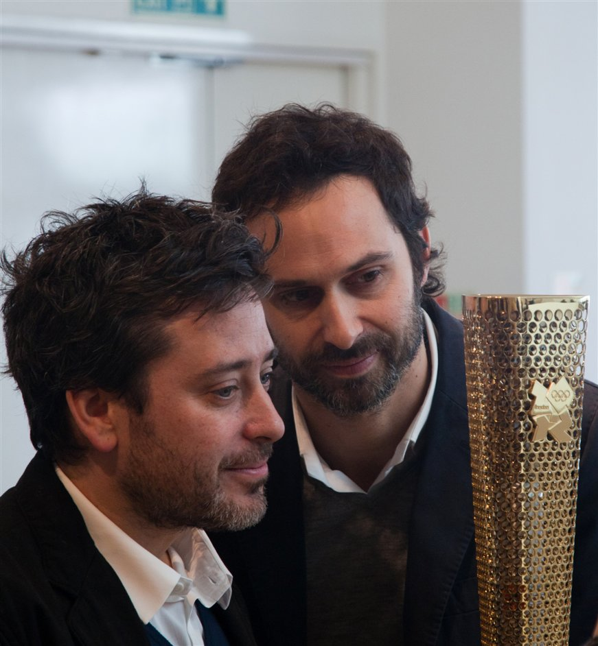 Edward Barber and Jay Osgerby - Edward Barber & Jay Osgerby, Olympic Torch. Photographer Luke Hayes
