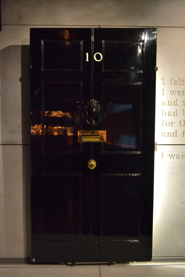 Churchill War Rooms - Original Number 10 Door