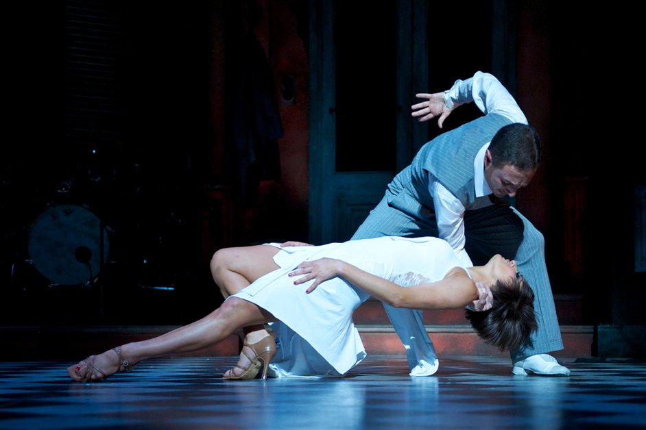 Midnight Tango - Vincent Simone & Flavia Cacace, picture credit Manuel Harlan