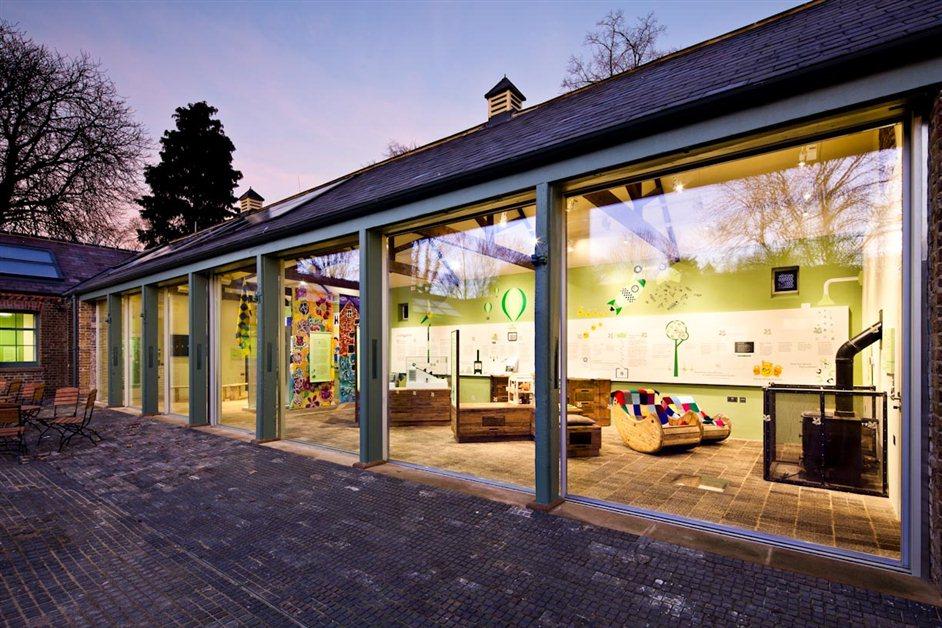 National Trust Morden Hall Park Livinggreen Exhibition Leyard