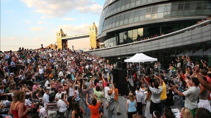Summer 2013 On London S South Bank Londontown Com