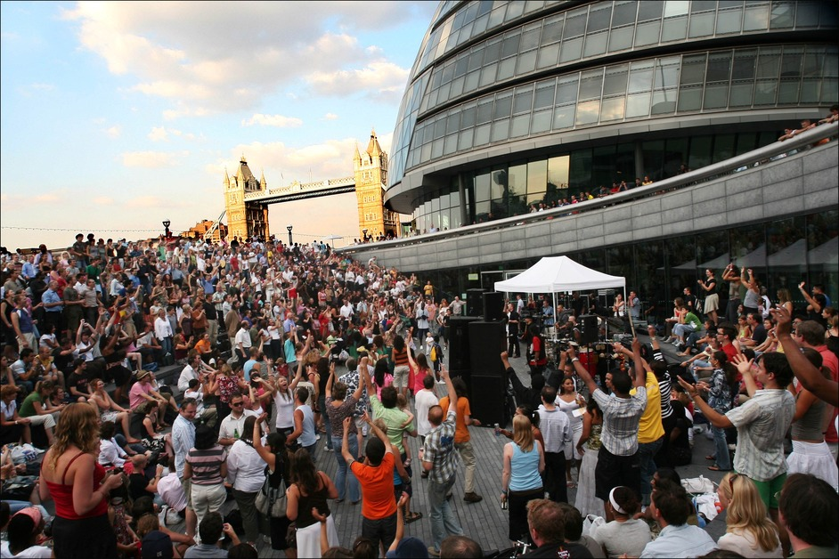 The Scoop at More London Free Festival