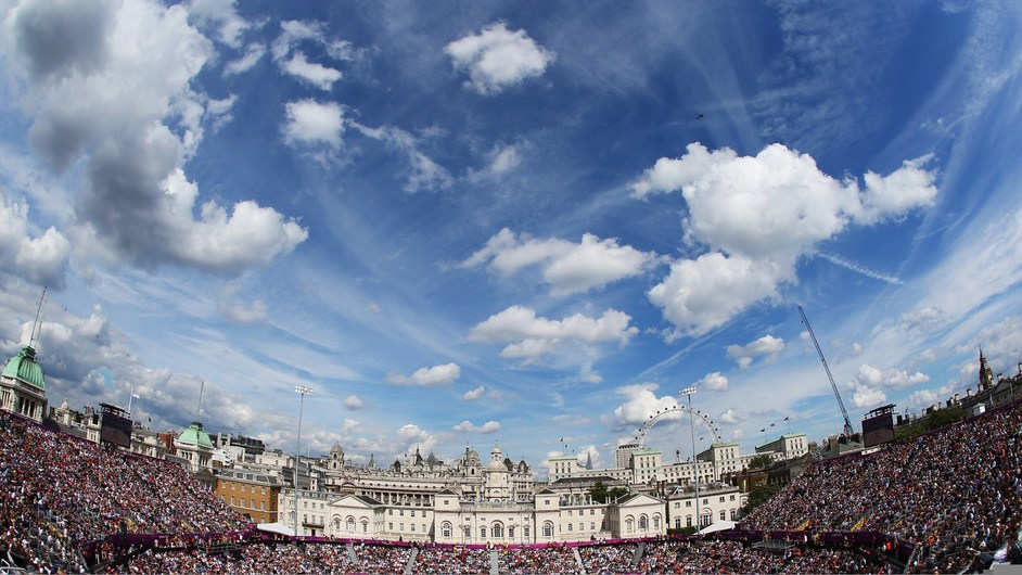 London Olympics: Horse Guards Parade