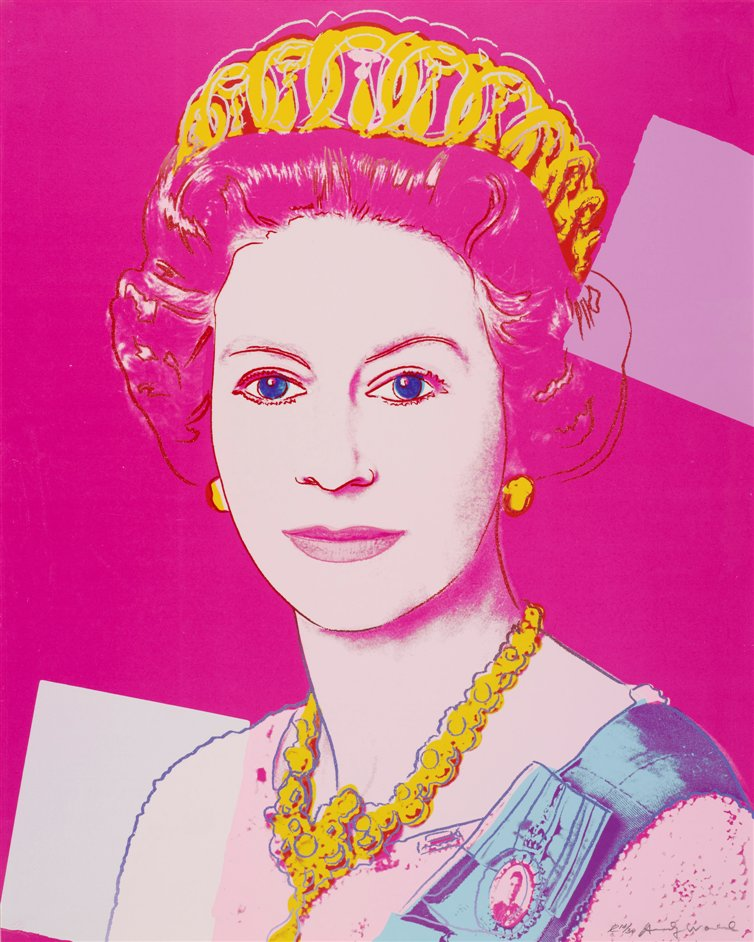 The Queen: Portraits of a Monarch - Andy Warhol, 1985, Queen Elizabeth II, © DACS