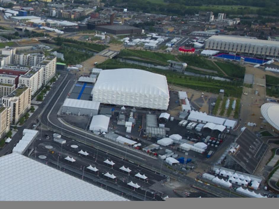 London Olympics Basketball Arena - Jason Hawkes