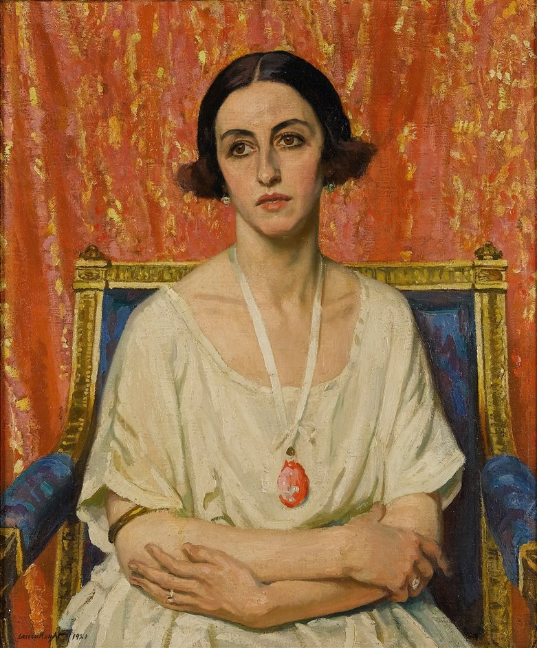 Laura Knight Portraits - The Piccaninny by Dame Laura Knight, 1927, Private Collection