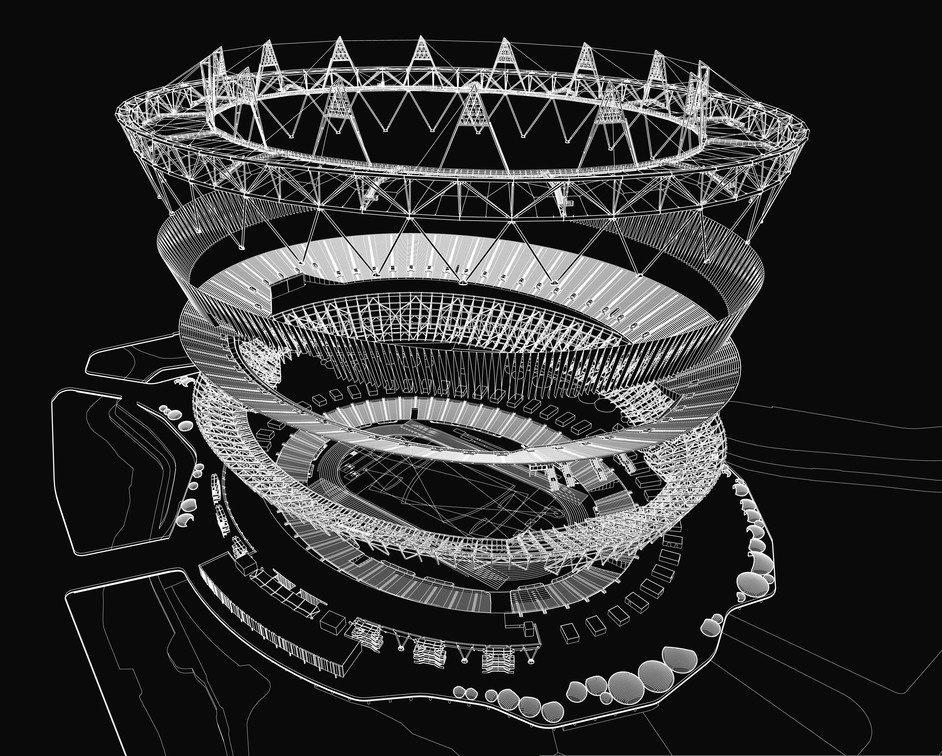 Stadia: Sport and Vision in Architecture - ® POPULOUS, Olympic