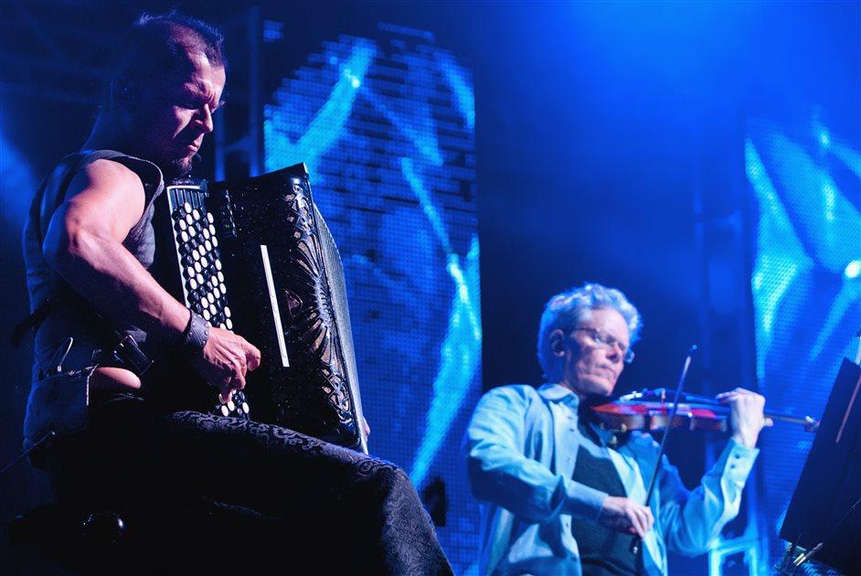 Kronos Quartet: Uniko - Kimmo Pohjonen & Samuli Kosminen - UNIKO - Kronos Quartet & Kimmo Pohjonen. (c) Colours of Ostrava