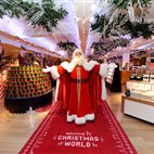 Harrods Christmas Grotto hotels title=