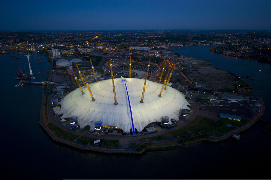 London Olympics: North Greenwich Arena - Jason Hawkes